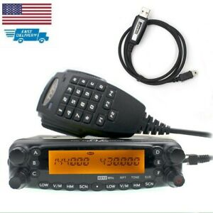 TYT TH7800 50W Full Duplex Cross Repeat Dual Band Radio Station with Cable
