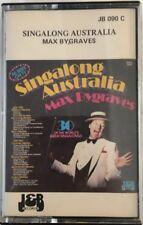 Max Bygraves - Singalong Australia (various medleys) Cassette Tape Album (C101)
