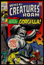 Where Creatures Roam # 5 Marvel