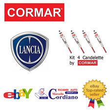 KIT 4 CANDELETTE LANCIA THESIS 2.4 JTD DA ANNO 2002 CORMAR