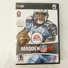 Madden NFL 08 DVD - PC Complete - In Original Case w/ Instruction Manual