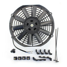 "ACP 10"" Universal Pull Radiator Cooling Fan Straight Blades Replacement Unit"