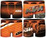 Lot de 4 Boxers KTM Homme Microfibre