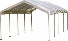 ShelterLogic 12' x 26' SuperMax Heavy Duty Steel Frame Quick Easy Set-Up Canopy