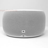 JBL Link 300 Voice Activated Google Assistant Smart Speaker Wireless White