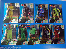 # ADRENALYN XL BRASIL 2014 GOAL STOPPER - Figurina-Sticker- SET 9 CARDS CPL