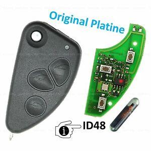 Klapp Schlüssel Ersatz Fernbedienung  für Alfa Romeo 156 147 166 GT 433MHz ID48