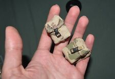 "1:6 Modern US Army Camo Gear Pouches Bag (2 Pcs) for 12"" Action Figures C-132"