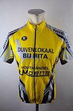 Vermarc Nossegem moens Bike cycling jersey maglia Rad Trikot Gr. XL 5 53cm  J-10