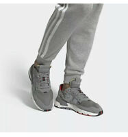 Adidas Originals Nite Jogger EE5869 Grey Reflective Shoes Men's Size 11.5 NIB