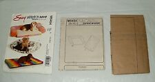 PET BEDS SEWING PATTERN 3 Styles McCalls M5454 EASY STITCH n SAVE 2007 UNCUT