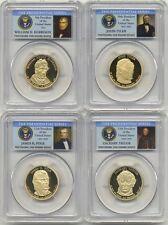 2009 S Presidential Dollar 4 Coin Proof Set PCGS PR70 DCAM $1