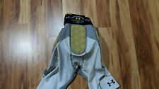 Mens Under Armour Mpz Football Girdle Padded Compression Shorts Sz M white