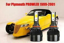 LED For PROWLER 1999-2001 Headlight Kit 9005 HB3 6000K White CREE Bulbs Low Beam