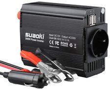Suaoki - 300W Convertisseur DC 12V AC 220V-240V, Transformateur de Tension Dual