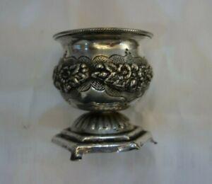 Judaica Hazorfim Pepper Holder Hallmarked Hazorfim 925  Sterling Silver
