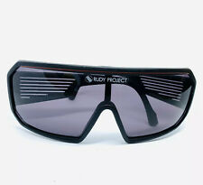 Vintage 80's Cycling Sunglasses Rudy Project Black With Side Vents 1986 WC