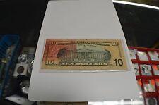 MAJOR INK ERROR 2003 TEN DOLLAR FEDERAL RESERVE NOTE