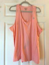 Reebok Athletic Shirt Peach Sleeveless shirt Size Womens XXXL 3X