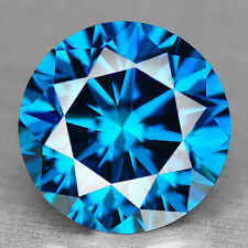 PREZZOPROMO RARISSIMO DIAMANTE 100% NATURALE CT.0,50 BLUE ROYAL COLOR IN BLISTER