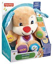 Mattel Fisher-Price Lernspaß Hündchen Baby Kinder Geschenke Taufe Stoffspielzeug