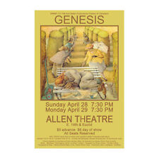 Genesis 1974 Cleveland Concert Poster