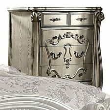 Acme Versailles 5 Drawer Chest in Antique Platinum