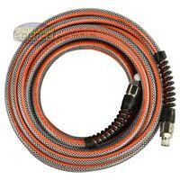 1/4 x 25 Ft Striper Flex Reinforced Hybrid PVC Air Hose Bend Restrictors 300 PSI