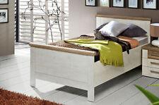 Bettgestell 100x200cm Seniorenbett Einzelbett pinie weiß eiche antik 54609472