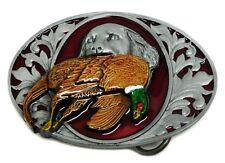 La chasse Boucle de ceinture Gun Dog & Pheasant Western Themed Authentique Dragon designs