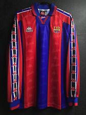 1996-97 Fc Barcelona Home Shirt Ronaldo #9 Long Sleeves  All sizes By Kappa