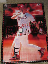 Mark McGwire St. Louis Cardinals Bic Mac Poster