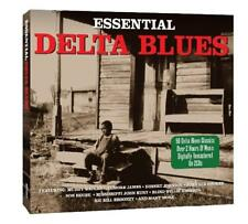 Essential Delta Blues NEW SEALED 2CD SET 50 Classics,Muddy Waters,Son House ETC