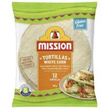 Mission White Corn 12 Tortillas 312g
