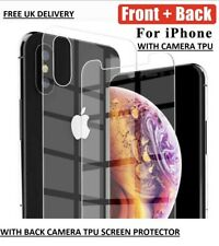 Front+Back Tempered Glass 360 Screen Protector For Apple iPhone XS MAX