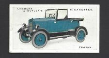 LAMBERT & BUTLER - MOTOR CARS, 3RD - #48 TROJAN