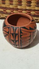 Handmade Signed Jemez Pueblo Pottery, Indian Artist G. Vigil