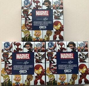 Disney Store Japan Marvel Gurihiru Secret Charm Collection Set of 3