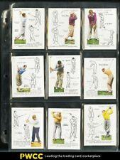 1939 John Player & Sons Golf High-Grade COMPLETE SET Compston Adams Boomer