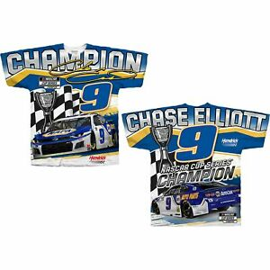 Chase Elliott #9 NAPA Championship Sublimated Shirt 2020 New Free Ship Instock