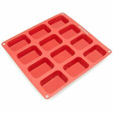 Freshware Silicone Soap Bread Loaf Muffin Brownie Cheesecake Baker Dessert Mold