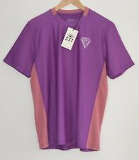 PAUL SMITH 531 Viola CICLISMO layer di base T-shirt Jersey T-shirt bici MEDIUM
