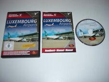 Lussemburgo aeroporti PC CD ROM add-on di espansione Simulatore di volo SIM X FSX FS