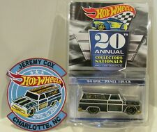 Hot Wheels 20th Nationals/Convention DINNER '64 GMC Panel Truck w/ PATCH /4000