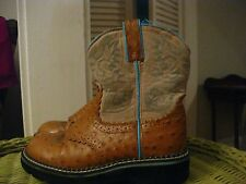 ARIAT 4 LR Fat Baby western boots youth 2.5  EU 33