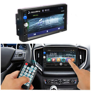 2Din 7 Inch HD Touch Screen Car Stereo MP5 Player Radio BT/FM/USB/TF Card/Aux