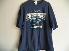 Vintage San Diego Chargers Mens Xl Blue Graphic Nfl Football T-Shirt Extra Large