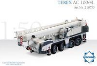 Conrad 2107-0 Terex AC100-4L Telescopic Mobile Crane Die-cast 1/50 MIB