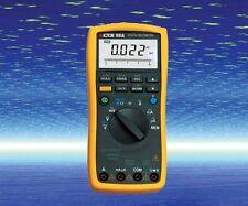 Digital Multimeter Thermocouple K RTD PT100 DC AC V/A Ohm Cap. Freq. Measure USB