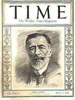 1923 Time April 7-Joseph Conrad;Russia;Is Zionism dying